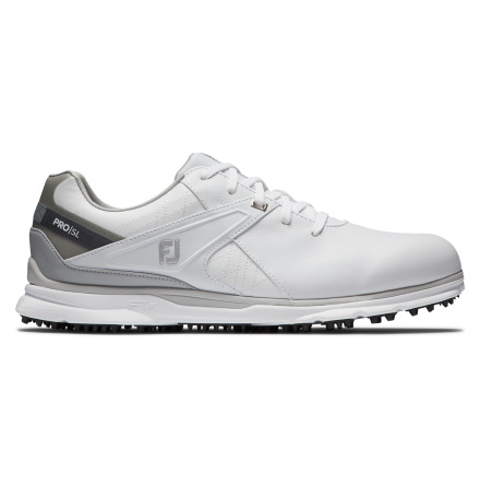 Golfskor FootJoy Pro SL Vit/Grå - Wide