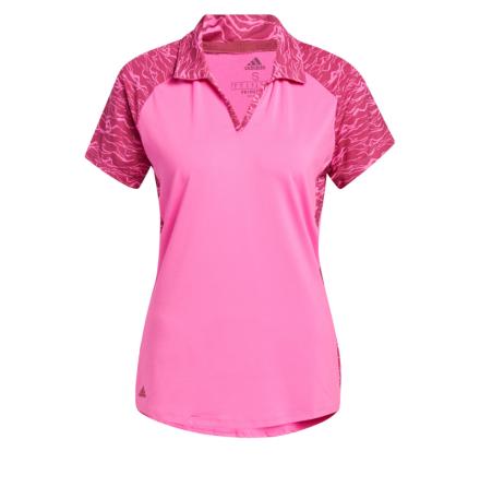 Adidas ULTIMATE365 Printed Short Sleeve Polo