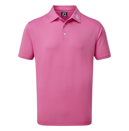 FootJoy Stretch Pique Solid Berry