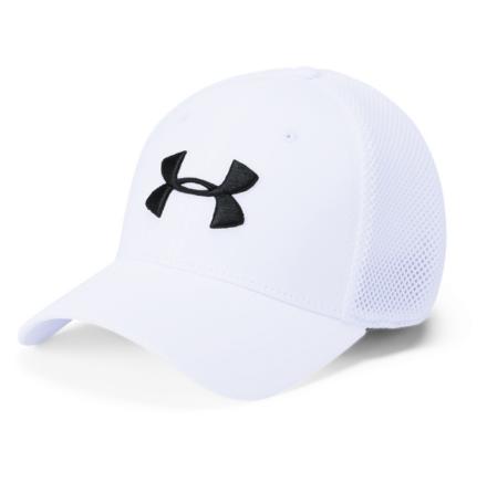 Under Armour Golf Classic Mesh Cap White