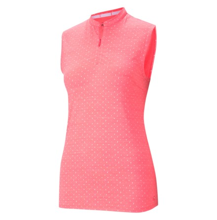 Puma golf CloudSpun SL Polka Polo Ignite Pink