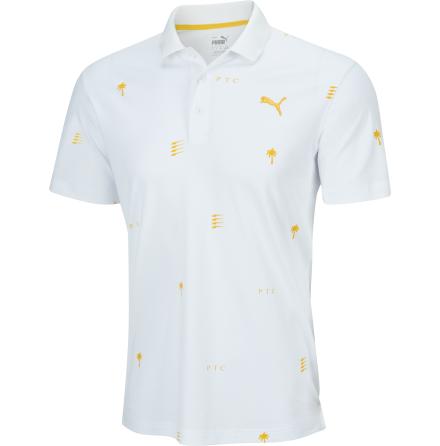Puma x PTC Limited Edition Polo White