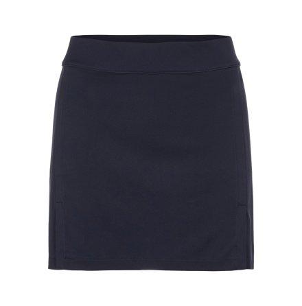 J Lindeberg W Amelie Mid TX Jersey Skirt 40 cm Navy