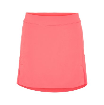 J Lindeberg W Amelie Mid TX Jersey Skirt 40 cm Tropical Coral
