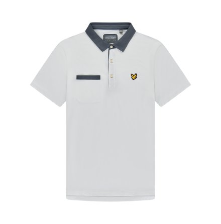 Lyle & Scott Golf Aviemore Polo White