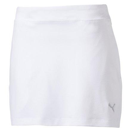 Puma Golf Girls Solid Knit Skirt White