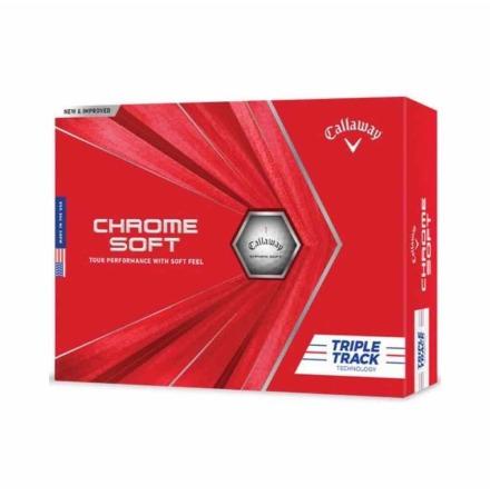 Golfbollar Callaway Chrome Soft Tripple Track
