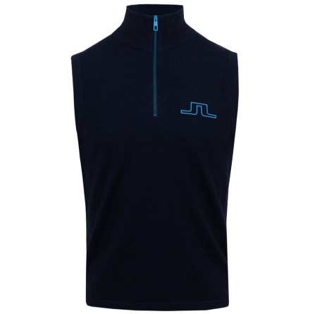 J Lindeberg Golf Rodgers Pull Over Navy
