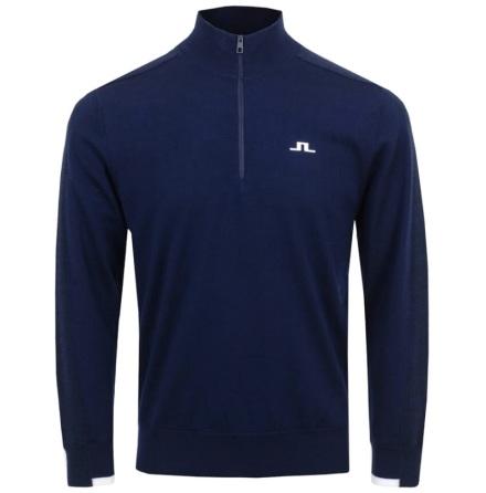 J Lindberg Golf Avi Windbreaker Sweater Navy