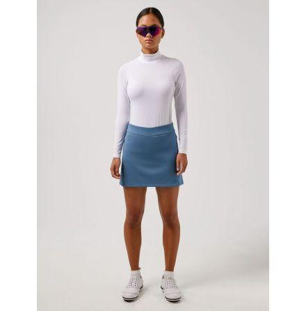 J Lindeberg W Amelie Mid TX Jersey Skirt 40 cm Captain´s blue