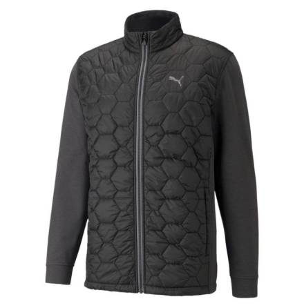 Puma Golf CloudSpun WRMLBL Jacket Svart