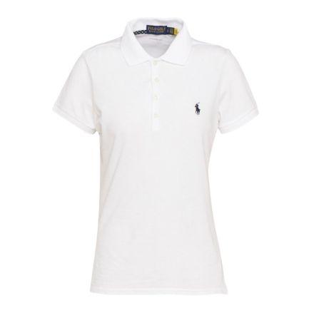 Ralph Lauren Golf Kate S/S Polo Vit