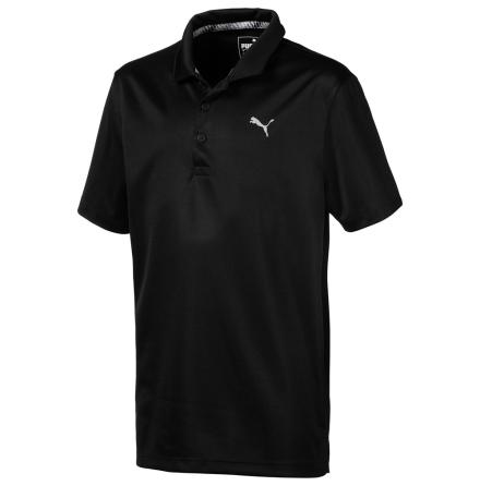 Puma Golf Essential Polo Junior Svart